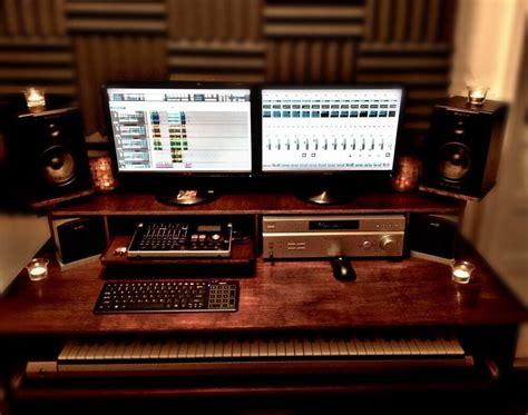 studio desk furniture plans plans  build  ebay