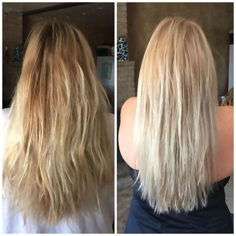 color before and after pictures wella t11 t18 toner before and after allcures