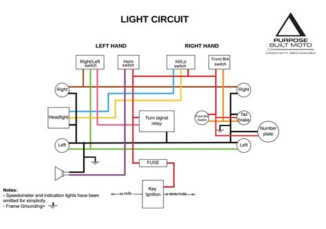 Electrical Wiring Diagram Motorcycle
