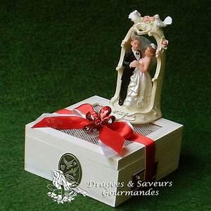 Cadeau 50 Ans De Mariage Parents : boite en bois cadeau mariage personnalise parents temoins ~ Melissatoandfro.com Idées de Décoration