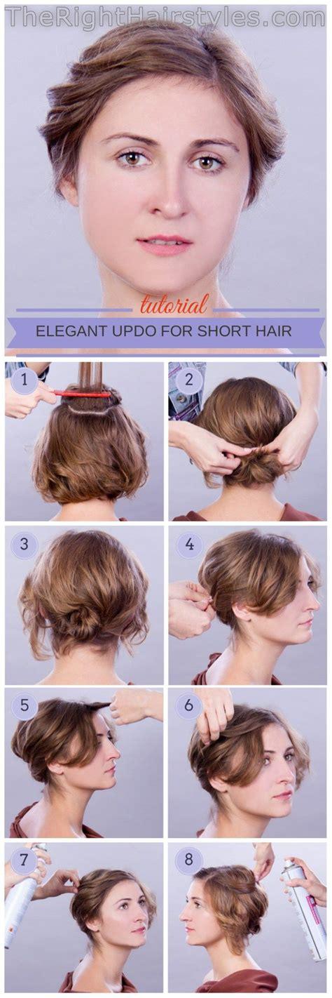 ideas  fine hair updo  pinterest updos