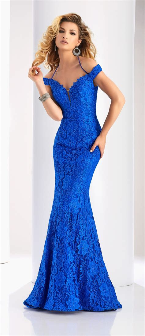 Clarisse Prom 2018 dress 4801. Fit and flare off shoulder ...