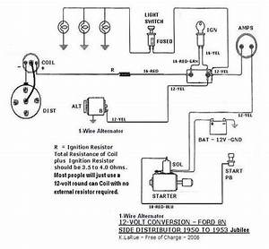 51 Ford 8n Tractor Wiring Diagram