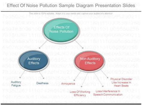 effect  noise pollution sample diagram