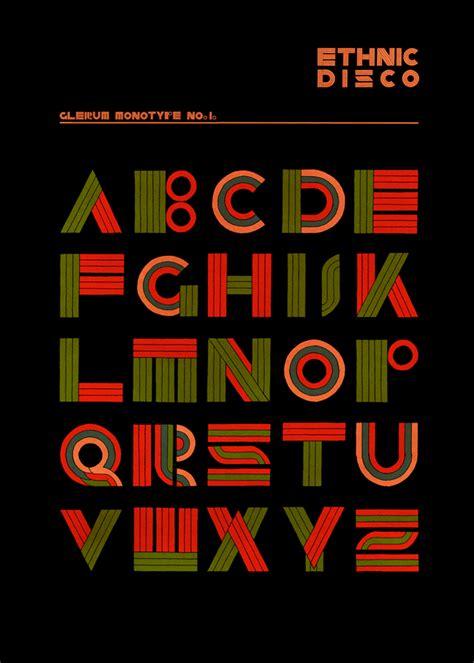 ethnic disco monotype stefan glerum