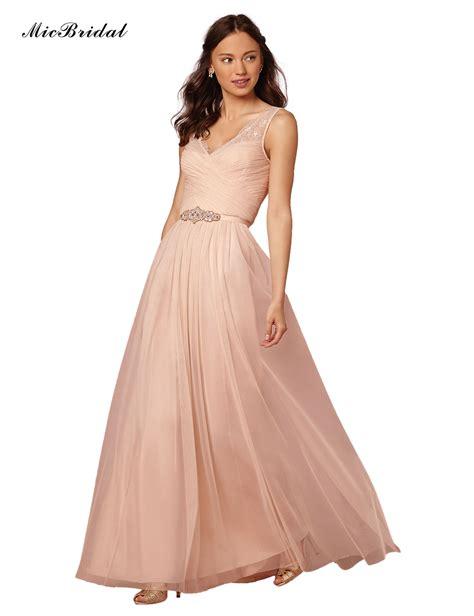 popular peach colored bridesmaid dresses buy cheap peach