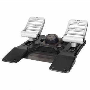 Saitek Pro Flight Combat Rudder Pedals Joystick Saitek