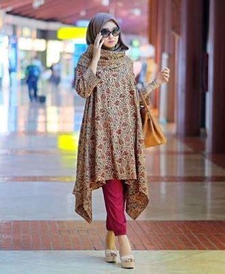 model tunik batik terbaru  modern cantik