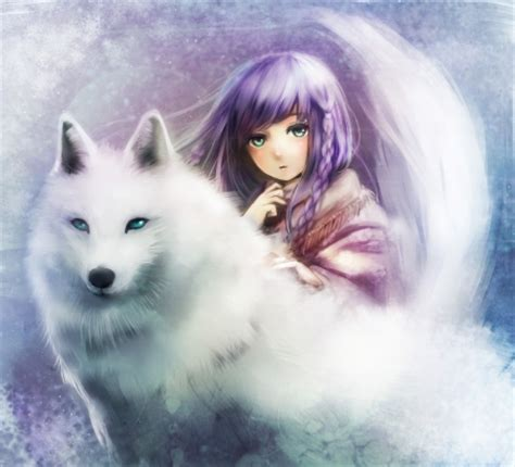 Beautiful Anime Wolf Wallpaper by Comments On Wolf Other Wallpaper Id 2200043