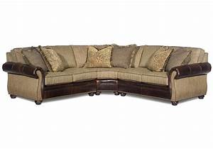 Bradington young sterling corner sectional sofa for Sectional sofa jacksonville