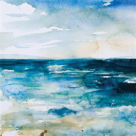 coastal abstract  canvas art