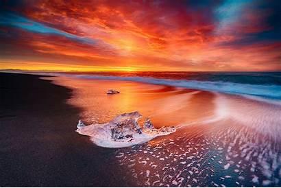 Ocean Waves 4k Exposure Wallpapers Nature Backgrounds