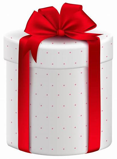 Gift Transparent Box Christmas Clipart Gifts Bow