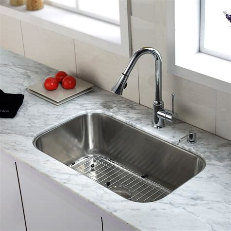 best kitchen sinks and faucets top mount kitchen sink and faucet combo 7725