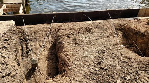 replacement bulkhead construction lake houston
