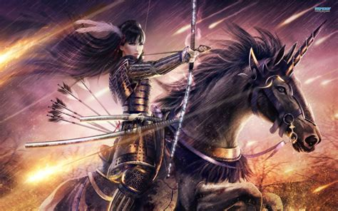 Anime Warrior Wallpaper - warrior princess hd wallpaper and background image
