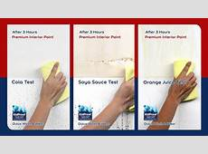 Dulux Wash & Wear Product demonstration YouTube