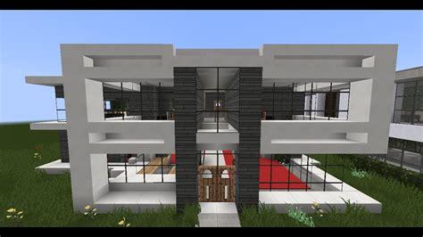 Minecraft Modern House Plans Escortsea