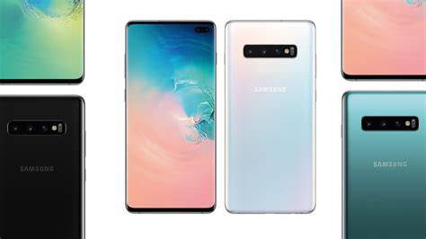 samsung officially launches galaxy s10 s10 with new design wireless charging more