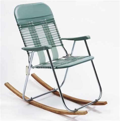 sam durant rocking chair found vinyl and metal folding chair and wood 36 x 22 x 37 in 91 4 x