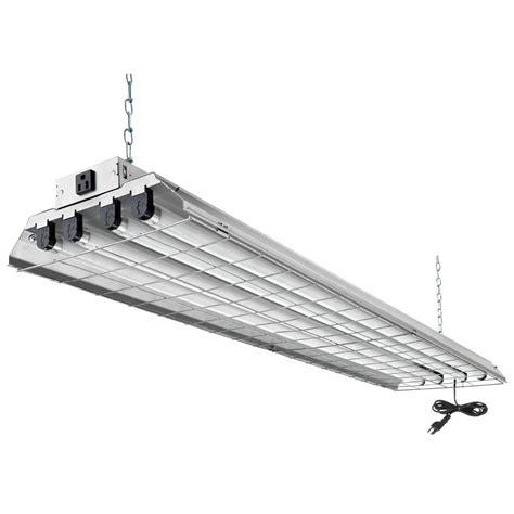 fluorescent shop lights lithonia lighting 4 light grey fluorescent heavy duty shop