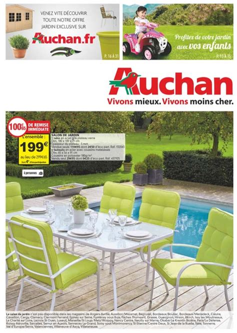 Catalogue Jardin by Catalogue Auchan Jardin Au 28 Avril 2015 Catalogue Az