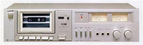 Stereo Cassette Decks Audio System