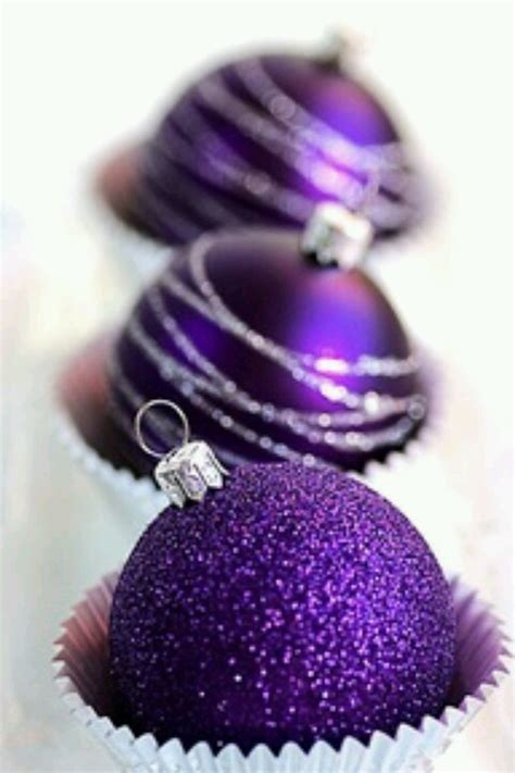 antique christmas ornaments a purple silver christmas