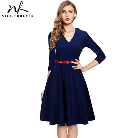 Nice Forever Spring Stylish Charming Elegant Lady Dress