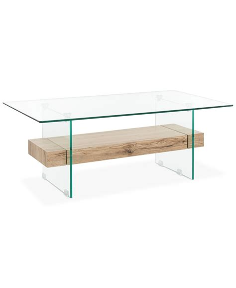 Finished wood, brass, glass, acrylics & more. Safavieh Kayley Rectangular Coffee Table & Reviews - Furniture - Macy's | Coffee table ...