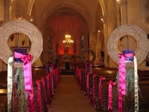 dã coration mariage chetre dã coration ã glise photo cérémonie de mariage