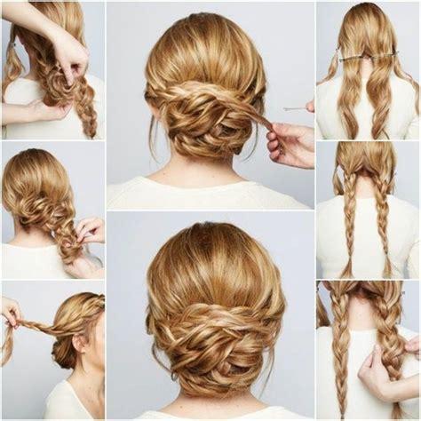 coiffure simple pour mariage chignon coiffure chignon mariage simple coiffure femme cheveux