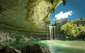 Waterfall, Wallpaper, Hd