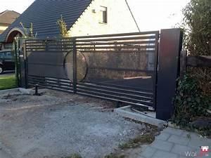 Installer Un Portail : installation d 39 un portail par bv ferronnerie ~ Premium-room.com Idées de Décoration