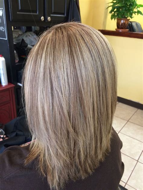 Hair With Lowlights Hairstyles by Medium Length Hair With Hilights And Lowlights My