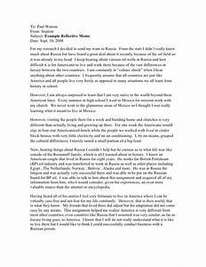 reflective letter example best letter sample With reflection letter