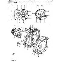 Footrest replacement parts for 1984 suzuki lt125 for Diagram of 1984 dt40ecle suzuki marine outboard recoil starter diagram