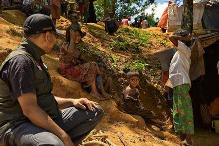 tiba  bangladesh relawan muhammadiyahaid bantuan