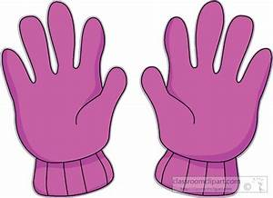 Clothing : winter_gloves_02 : Classroom Clipart