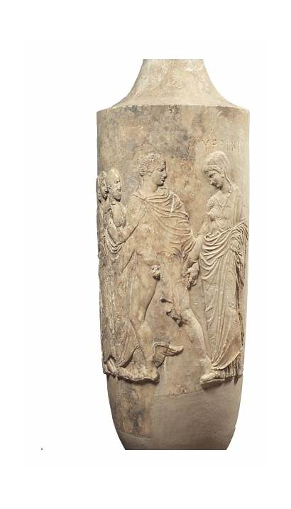 Greek Artifacts Found Marble Athens Ancient Bc