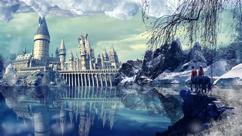 Harry Potter Castle Wallpaper Hogwarts Harry Potter Playstation Wallpaper Playstation Universe