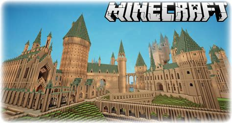 Remarkable Minecraft Hogwarts Harry Potter Replica