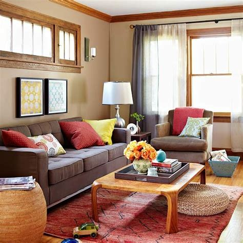 Rich Autumn Living Room Pictures, Photos, and Images for