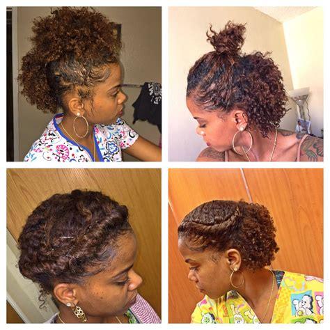 6 cute hairstyles for a braid out short hair natural