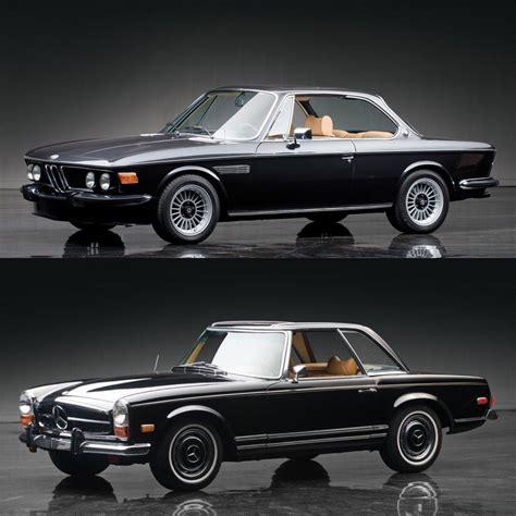 Classic Car Face Off Bmw 30 Cs Coupe Vs Mercedesbenz