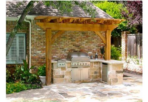 17+ Irresistible Outdoor Bar B Que Kitchen