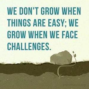 Motivational Quotes About Challenges. QuotesGram