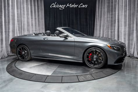 Learn more about price, engine type, mpg, and complete safety and warranty information. Used 2017 Mercedes-Benz S63 AMG Convertible Only 9k Miles LOADED For Sale ($109,800)   Chicago ...