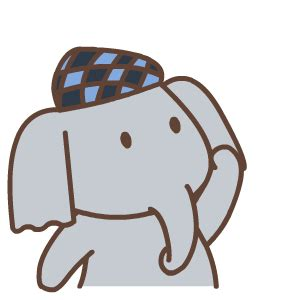 cute elephant animation emoji  funny gif