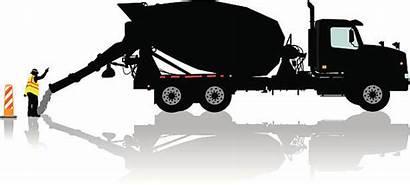 Cement Truck Concrete Mixer Construction Vector Clip